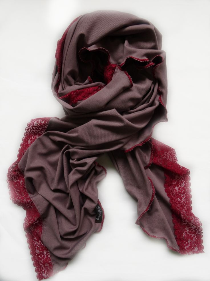 Lace Me Up Scarf by Stylesetterz Handmade Scarves @ www.facebook.com/stylesetterzhandmadescarves