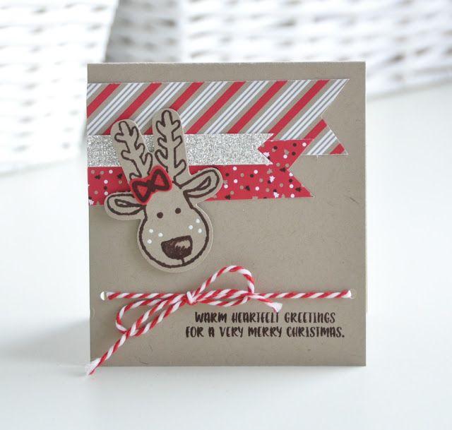 Chez Parmentier: warm heartfelt greetings | 3 keer Kerst: SU! Candy Cane lane