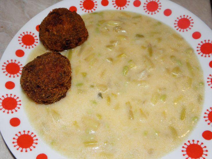 Gyermekkorom ízei: Zöldbab főzelék