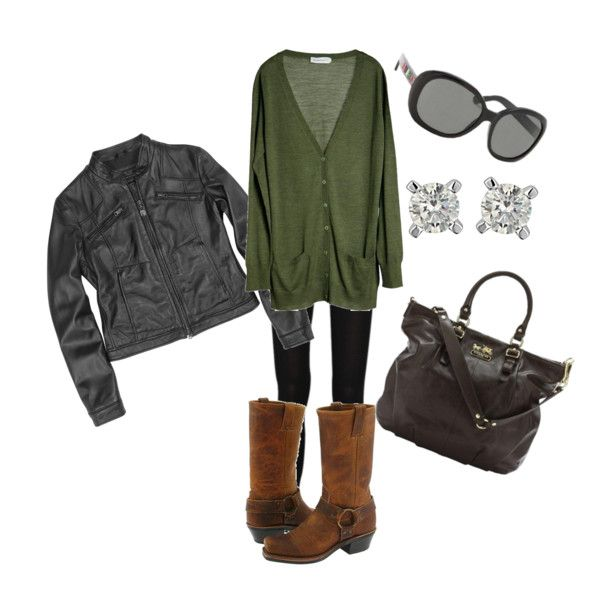 fall outfit.  leggings, boots