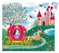 DJECO Puzzle - Elisin kočár