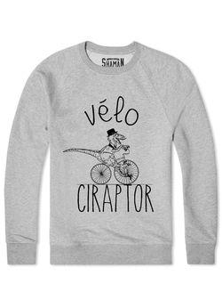 "Sweat ""Vélo Ciraptor"""