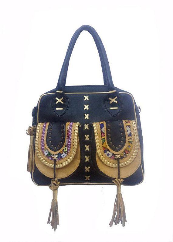 b83da13fa9 Gypsy Semi leather Banjara Handbag Embroidery Bags, Vintage Embroidery, Trendy  Handbags, Vintage Handbags