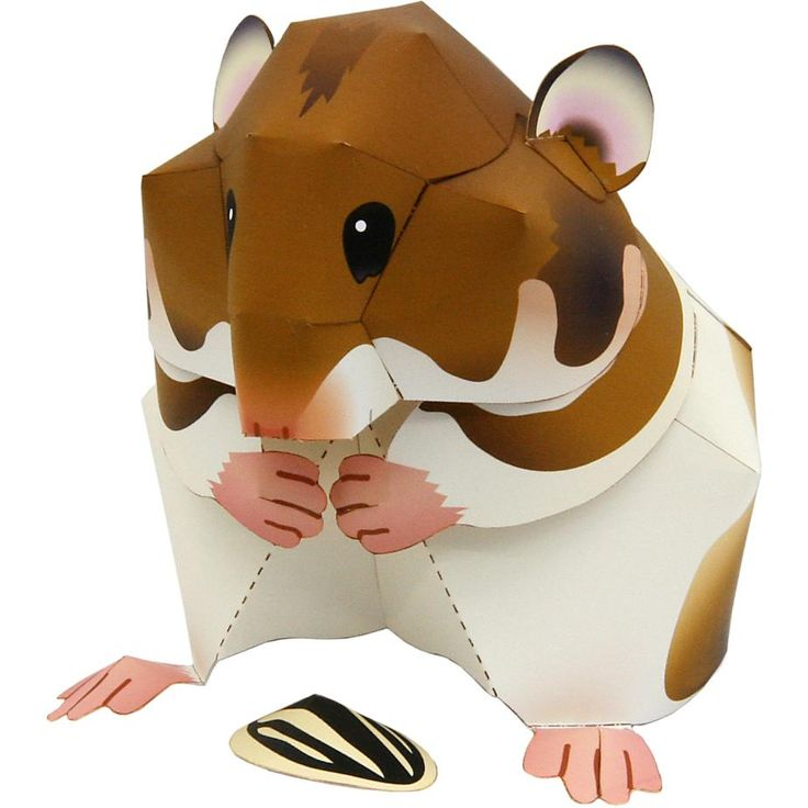 Syrian Hamster,Animals,Paper Craft,Rodentia,Mammals ,Animals,Paper Craft,Pet ser…