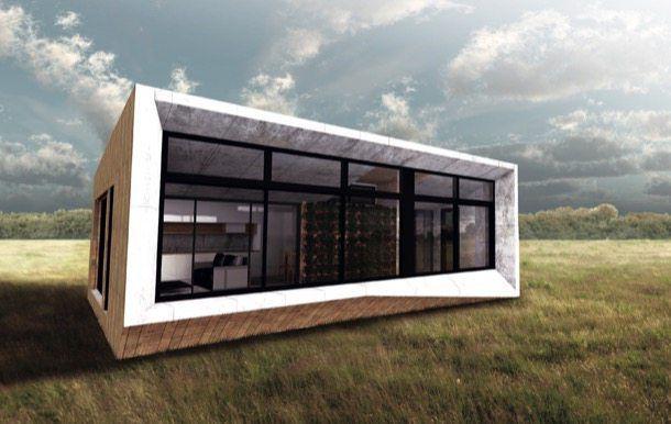ArchiBlox: casas ecológicas prefabricadas. ArchiBlox es una compañía Australiana que se dedica a la producción de casas ecológicas prefabricadas, de carbono positivo, pues durante su ciclo de vida útil evitan la emisión de 1.016 toneladas de dióxido de carbono. Vienen de serie con instalación de placas solares en cubierta, y un diseño que permite un comportamiento solar pasivo. Techo verde y reciclado de aguas grises, son opcionales.  #CasasPrefabricadas