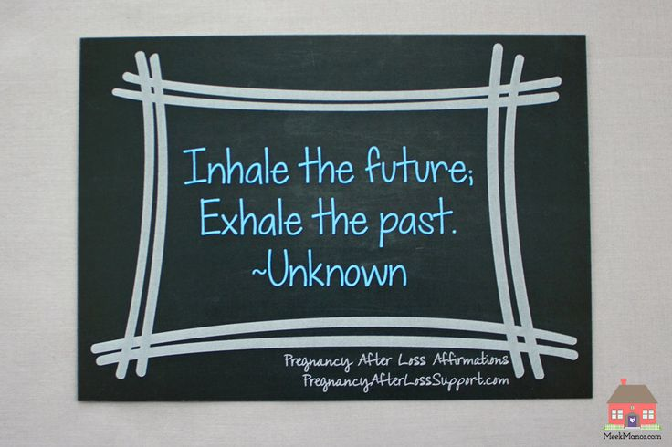"""Inhale, Exhale Pregnancy After Loss (PAL) Affirmation Chalkboard Print 5x7"""" by MeekManor on Etsy https://www.etsy.com/listing/221887786/inhale-exhale-pregnancy-after-loss-pal"""