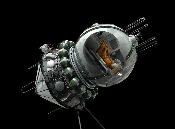 Bisbos.com :: SF : Spacecraft: Past: Vostok 1