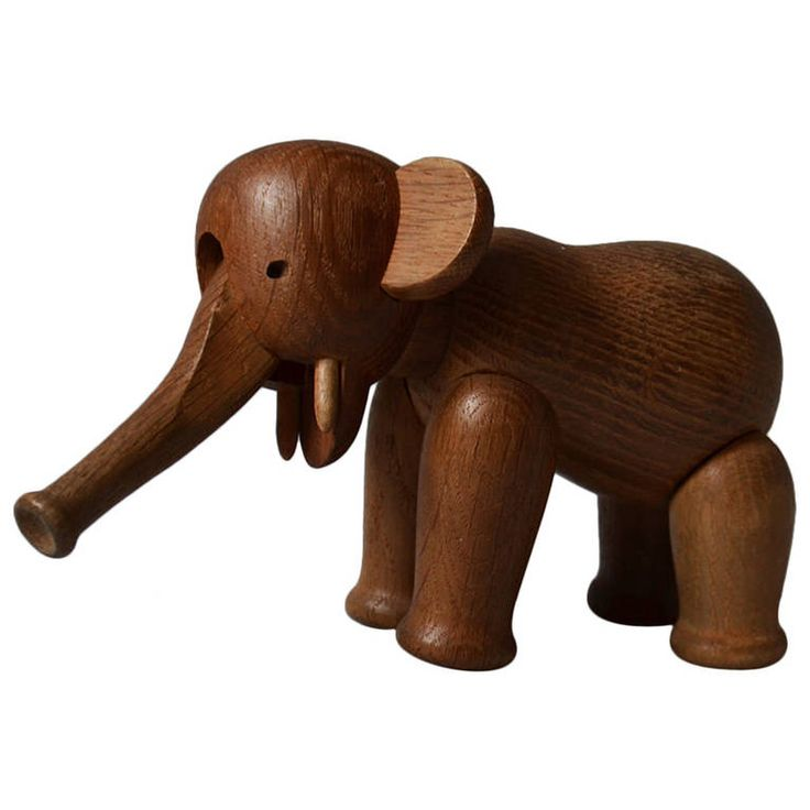 Oak Elephant by Kay Bojesen, 1960s | See more antique and modern Toys at http://www.1stdibs.com/furniture/more-furniture-collectibles/toys