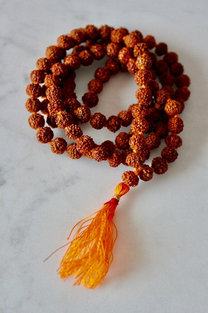 """Rudraksha seeds are known to be the """"tears of Shiva"""" and have powerful healing properties. Rudrakshas are believed to help the soul on its path to ascension. They help with concentration and meditation, increasing stamina and bestowing abundance to its wearer."""