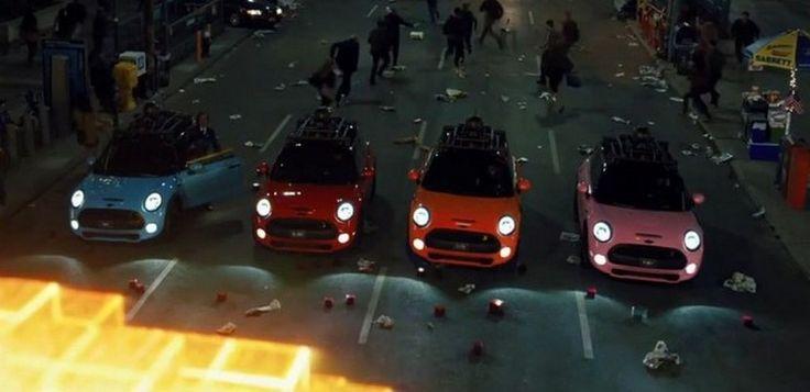 El nuevo MINI Cooper protagonista de la película Pixels - http://www.actualidadmotor.com/el-nuevo-mini-cooper-protagonista-de-la-pelicula-pixels/