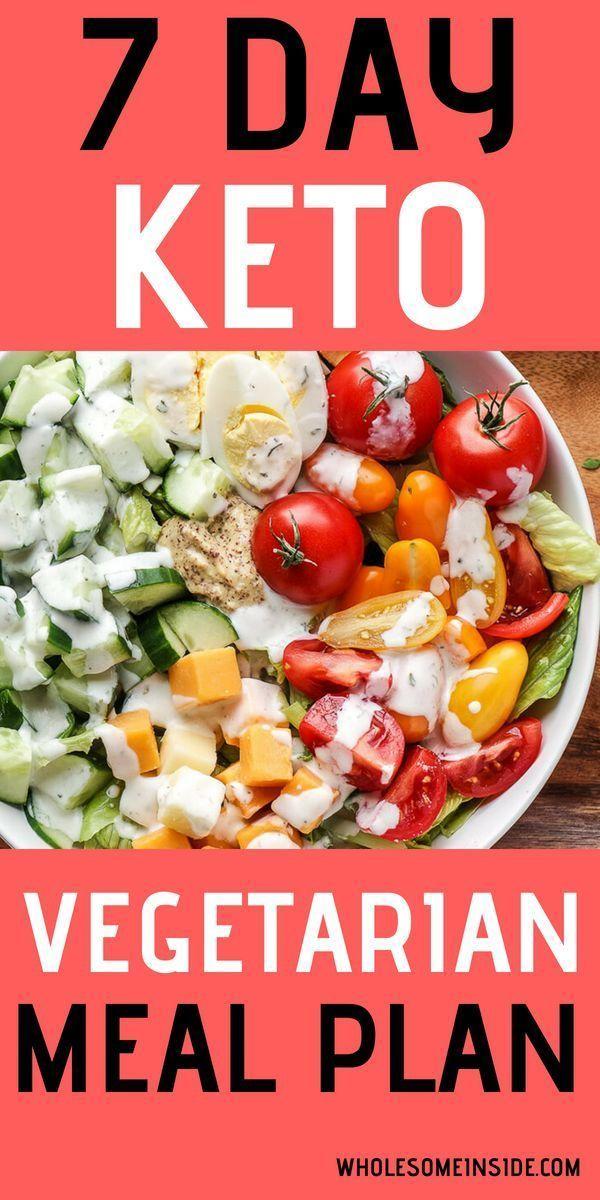 Programma di pasti cheto vegetariano di 7 giorni | Suggerimenti per l'esercizio e il fitness | #esercizio #fitness …