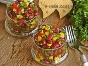 Meksika Fasulyesi Salatası Tarifi Hazırlanış Resmi 6 - Kolay ve Resimli Nefis Yemek Tarifleri