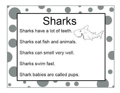 Shark Crafts and Activities for a Preschool Ocean Theme