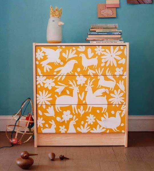 otomi inspired cabinet