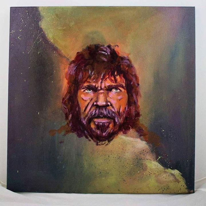 Tyrion Lannister Painting is now finished! This portrait is showing a lot of feelings