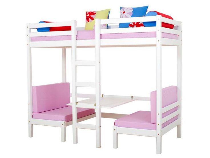 Kinderhochbett weiß  Die besten 25+ Etagenbett weiss Ideen auf Pinterest | Platzwunde ...