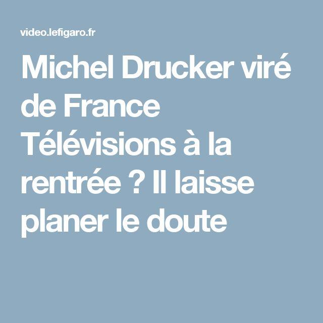 Michel Drucker viré de France Télévisions à la rentrée ? Il laisse planer le doute