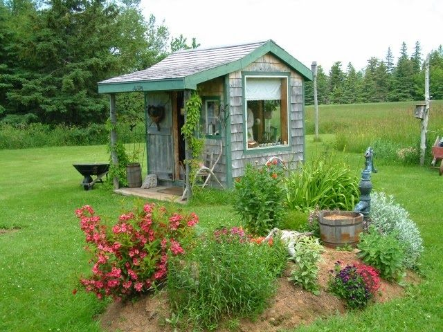 judys cottage garden garden potting sheds - Garden Sheds Madison Wi