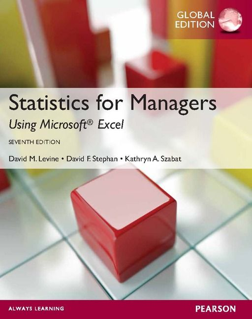 Statistics for Managers using Microsoft Excel | 212.55 LEV