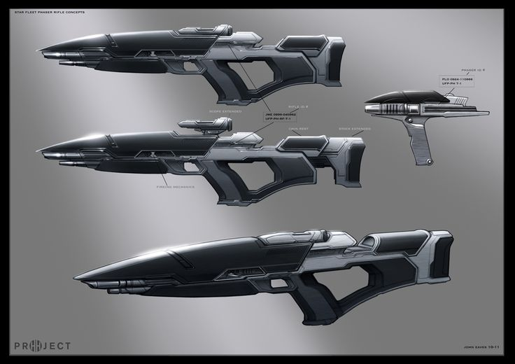 Starfleet rifle pack