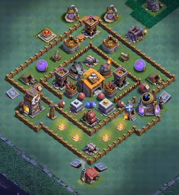 12 Best Builder Hall 6 Base Links Anti 1 Stars 4000 Clash Of Clans Coc Clash Of Clans Clsh Of Clans