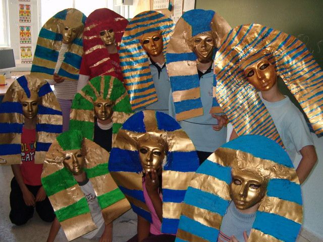 Allemaal Egyptenaren in de klas / Proyecto Egipto