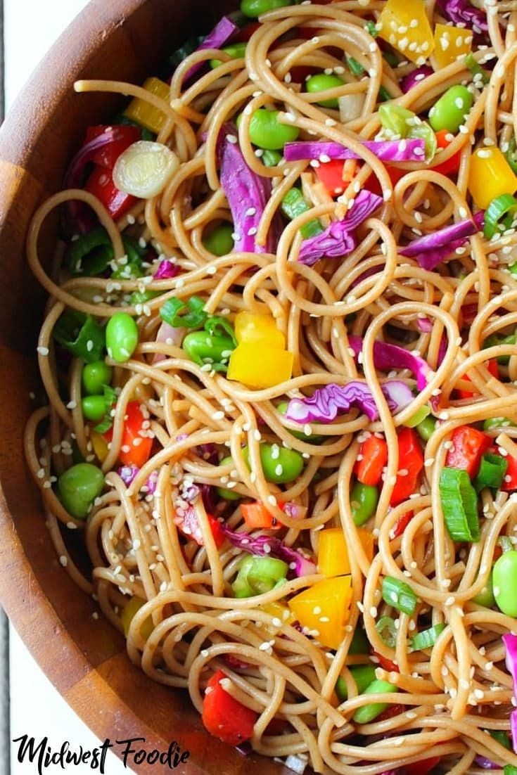 Asian Noodle Salad Vegan