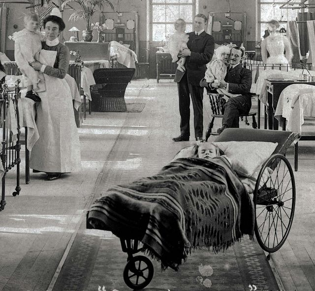 Lydia Ward, Guy's Hospital London 1907 Love this one!