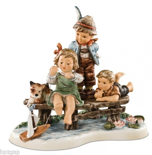 MI Hummel Sailing Lesson Moments in Time Figurine #232290