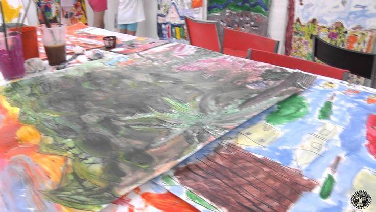 La pasada semana se desarrolló el primer turno del #taller de #pintura para niños del ciclo de Talleres de #verano de la Fundación. Una gran experiencia junto a las profesoras Inma y Julia. ¡Felicidades a nuestros pequeños artistas!