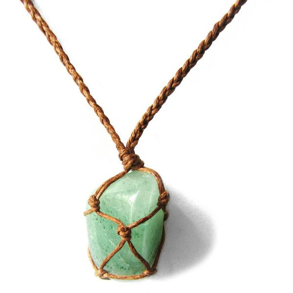 Green Aventurine necklace, Aventurine Pendant, Necklace for Good Luck,... ($21) ❤ liked on Polyvore featuring men's fashion, men's jewelry, men's necklaces, mens necklaces, mens watches jewelry, mens crystal pendants, mens crystal necklace and mens pendants