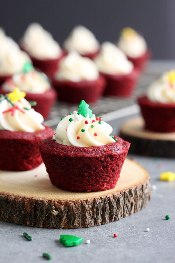 Red Velvet Cookie Cups Recipe Cookie Cups Recipe Delicious