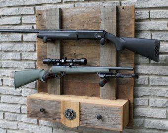 Barn Wood Bow & Arrow Rack for Archery by WoodlandShoppe on Etsy