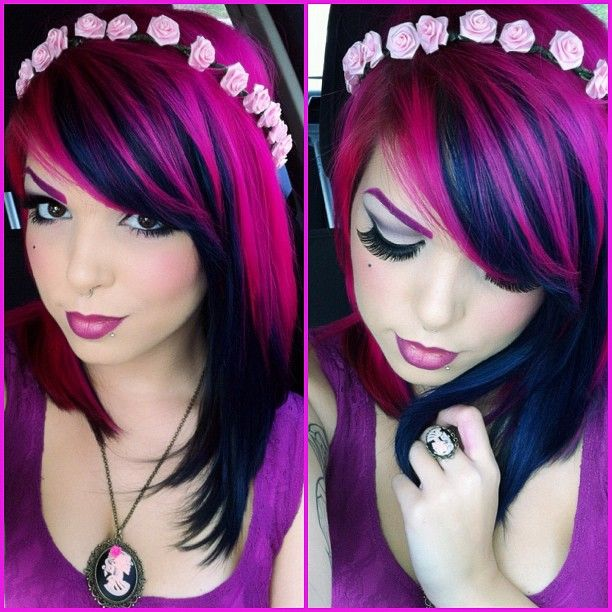 exotic hair color ideas