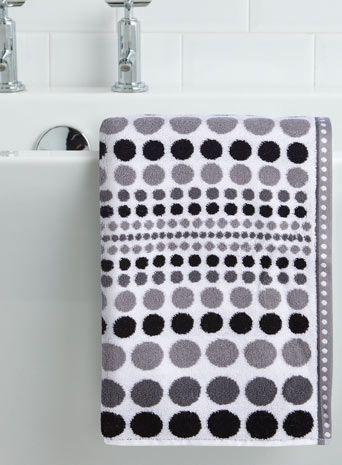 Best Monochrome Interior Design Images On Pinterest - Bhs monochrome word bath sheet bhs monochrome word hand towel