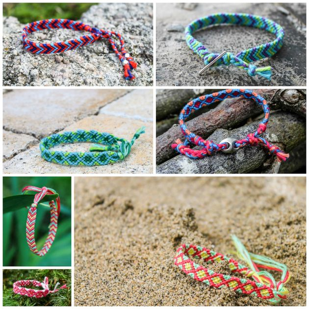Bracelets brésiliens - Summer - Colors