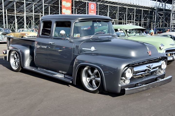 956 Ford F100 custom extended cab