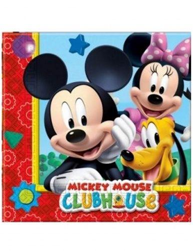 20 tovaglioli  di carta Mickey Mouse™ di 33 x 33 cm