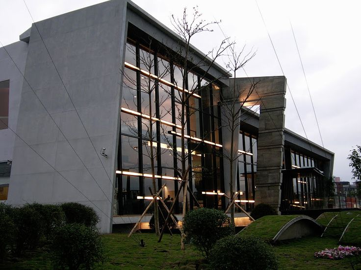 2005 Reception Center - Temporary Building . Taipei. Taiwan - by OFA & XIVDESIGN