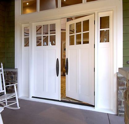 25 best ideas about double entry doors on pinterest Modern white front door