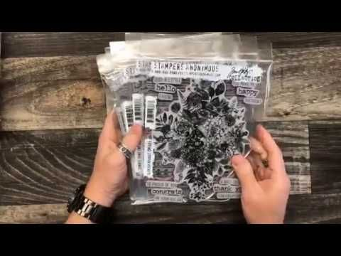 Facebook Live with Tim Holtz: new 2018 product debut of Tonic Tools - YouTube