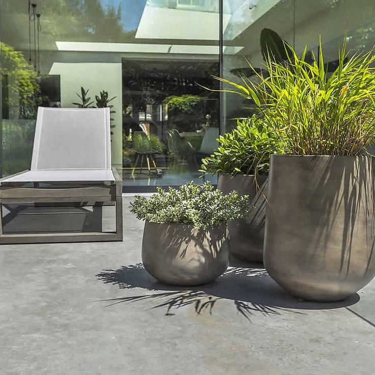 Garden Design With Modern Plant Landscape Ideas Simply: 25+ Best Ideas About Contemporary Planters On Pinterest