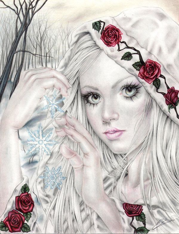 The Frozen Witch by EnysGuerrero.deviantart.com on @deviantART