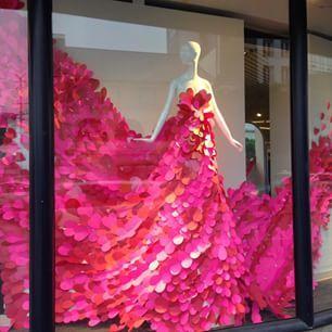 Window for Valentine Macy's Beverly Hills