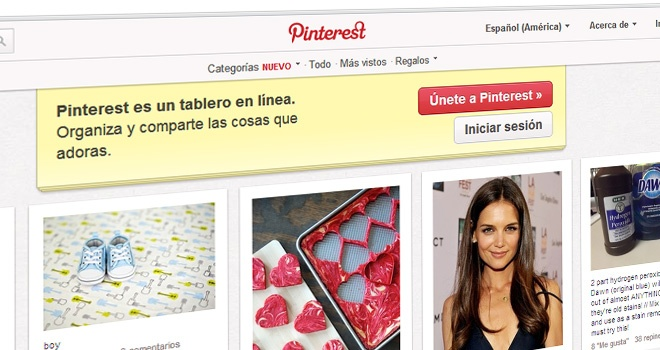 Pinterest ya no requiere invitaciones para registrarse
