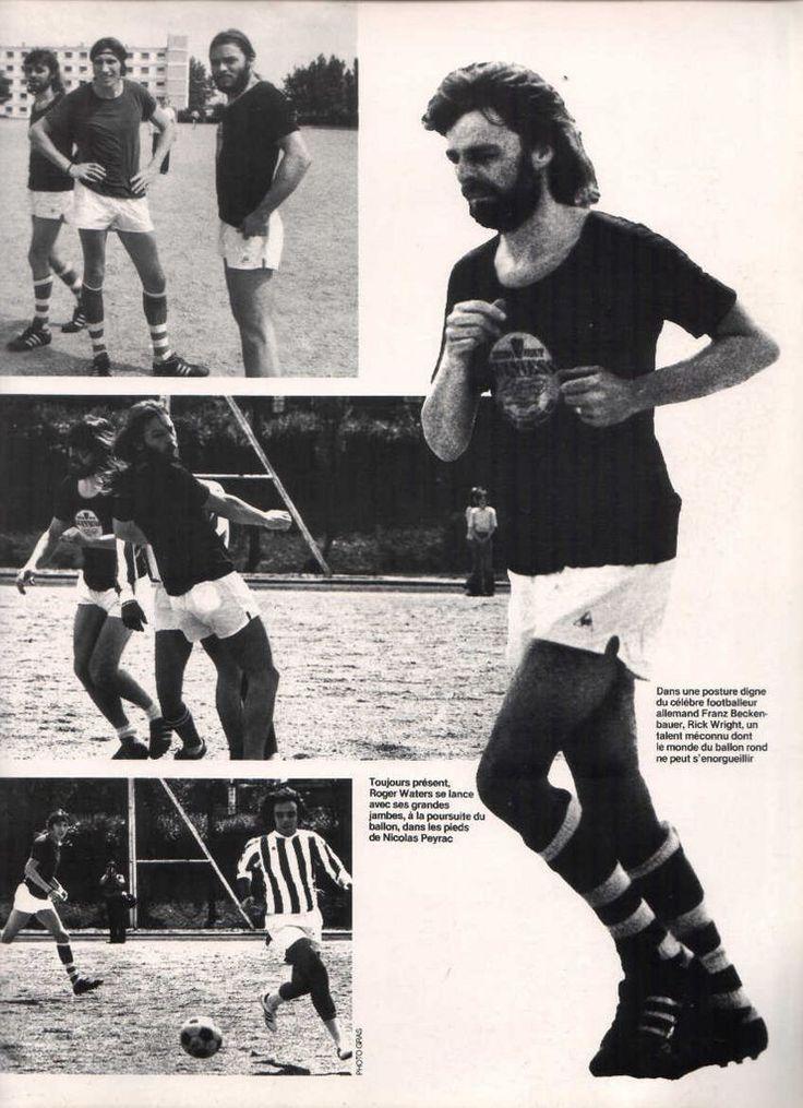 Pink Floyd Playing Football 3