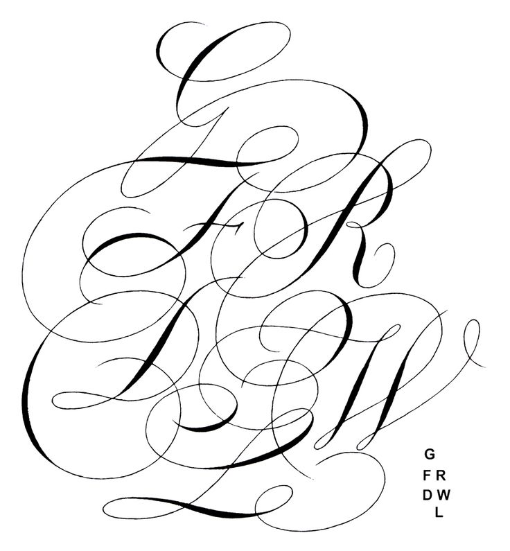 0270ea5bee9d4389820da565b2949ae5 flourished copperplate calligraphy alphabet on single phase submersible pump wiring diagram