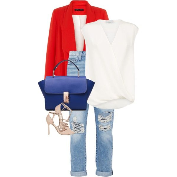 Untitled #234 by leehyena on Polyvore featuring 3.1 Phillip Lim, Current/Elliott and Topshop