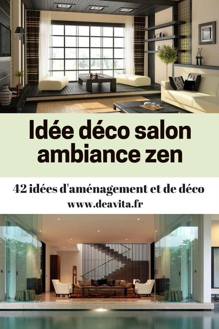 Les 25 meilleures id es de la cat gorie salons zen sur pinterest d cor zen de chambre for Ambiance zen salon