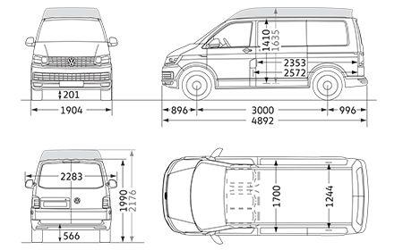 best 25 vw transporter dimensions ideas on pinterest vw t2 camper vw camper and vw camper vans. Black Bedroom Furniture Sets. Home Design Ideas